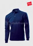 Muzhskie-polo-Hanes-Top-Polo-Long-Sleeve-temno-sinie