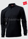 Muzhskie-polo-Hanes-Beefy-Polo-Long-Sleeve-chernie