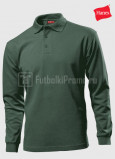 Muzhskie-polo-Hanes-Beefy-Polo-Long-Sleeve-haki