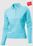Zhenskie-polo-Hanes-Polo-Long-Sleeve-biruzovie