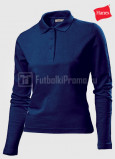 Zhenskie-polo-Hanes-Polo-Long-Sleeve-temno-sinie