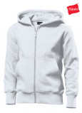 Detskie-tolstovki-Hanes-Junior-Hooded-Jacket-belaya