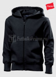Detskie-tolstovki-Hanes-Junior-Hooded-Jacket-chernaya
