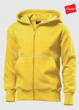 Detskie-tolstovki-Hanes-Junior-Hooded-Jacket-geltiy