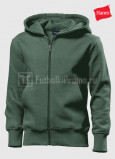 Detskie-tolstovki-Hanes-Junior-Hooded-Jacket-haki