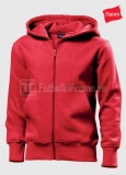 Detskie-tolstovki-Hanes-Junior-Hooded-Jacket-krasnaya