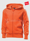 Detskie-tolstovki-Hanes-Junior-Hooded-Jacket-orangevaya