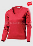 Zhenskie-futbolki-Hanes-Spicy-T-V-neck-Long-Sleeve-krasnaya