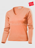 Zhenskie-futbolki-Hanes-Spicy-T-V-neck-Long-Sleeve-svetlorozoviy