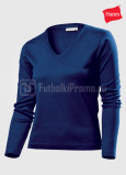 Zhenskie-futbolki-Hanes-Spicy-T-V-neck-Long-Sleeve-temno-sinaya