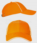 Plotnye-baseball-LD-CAP-370C-orange