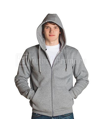 46fab4ab Мужские толстовки с капюшоном, на молнии, накладные карманы ST Style Men