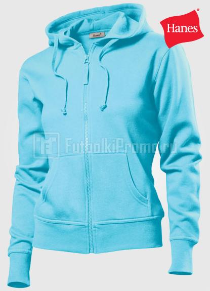 902649d0 Голубые женские толстовки с капюшоном, на молнии / Sky Blue (SK)