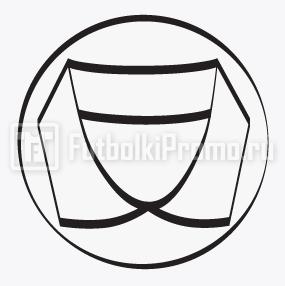 пошив поло -воротник из ткани