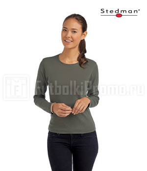 футболки женские Stedman Comfort Long Sleeve Women ST2140
